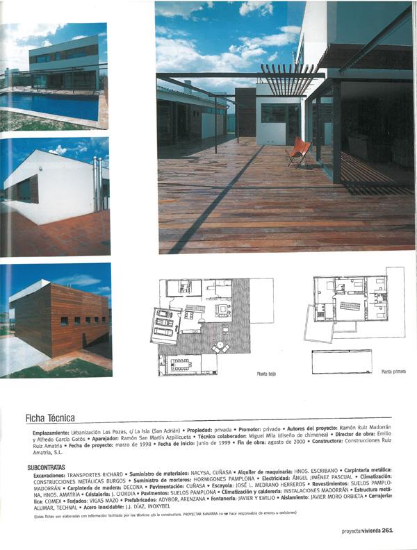 Proyectar Navarra. Casa JAE