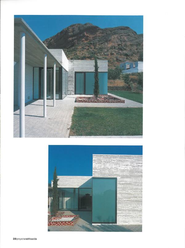 Proyectar La Rioja 24. Consultorio Médico Santa Eulalia